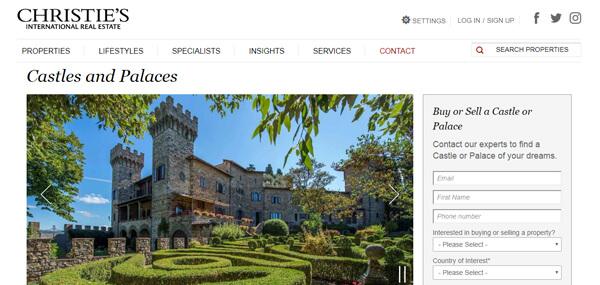 Christies Website